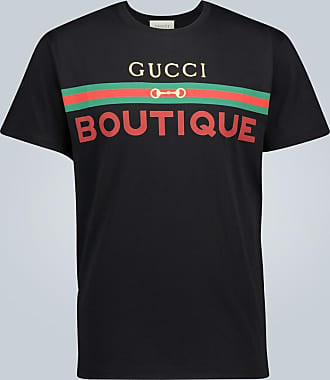Gucci Boutique printed cotton T-shirt