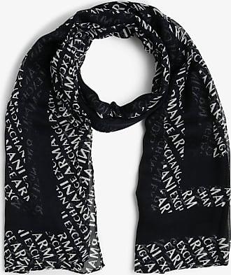 A|X Armani Exchange Damen Schal blau