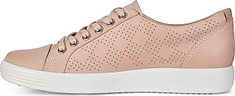 Ecco Womens Soft 7 Sneaker, Rose Dust Perforated, 38 M EU (7-7.5 US)