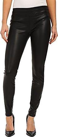 Blank NYC Womens Pull On Vegan Leather Legging, Black, 25
