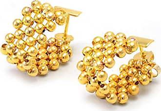 Tinna Jewelry Brinco Argola Flexível (Dourado)
