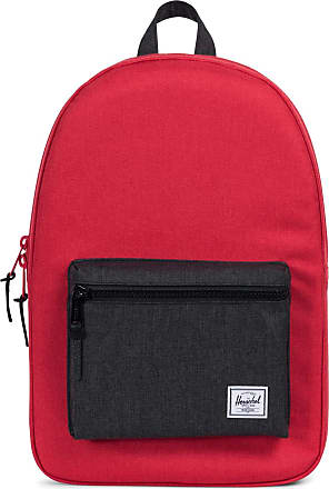 Herschel Co. Unisexs Settlement Backpack, Barbados Cherry Crosshatch/Black Crosshatch, One size