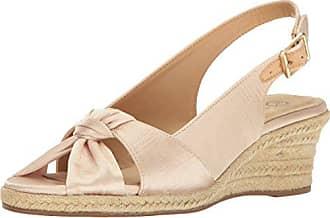 c1f6462ac9a Bella Vita Womens Seraphina Ii Espadrille Wedge Sandal Natural Silk 11 N US