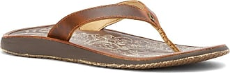 Olukai OluKai Paniolo Sandals Women Natural/Natural Shoe Size US 10 | EU 40 2019