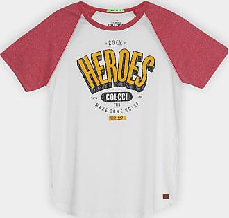 2e1da33da Colcci Fun Camiseta Infantil Colcci Fun Heroes Manga Raglan Masculina -  Masculino