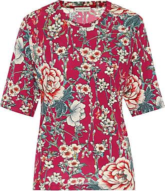 Etro Floral jersey-crêpe T-shirt