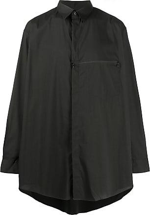 Yohji Yamamoto oversized shirt - Preto