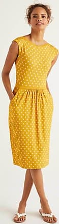 Boden Eleanor Jerseykleid Yellow Damen Boden