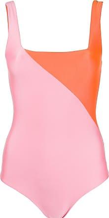 FAUSTO PUGLISI colour block bodysuit - Laranja