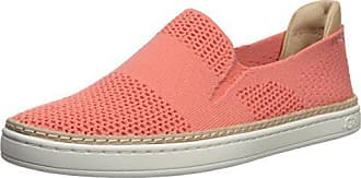 UGG Womens Sammy Sneaker, Vibrant Coral, 10 M US