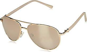 03b0fa8c0a5 Steve Madden Womens S5187 Aviator Sunglasses Rose Gold