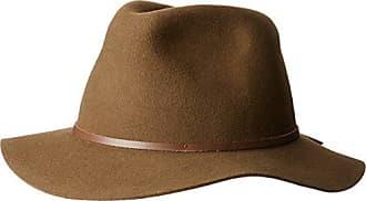 6f19a726bff45 Brixton Mens Wesley Medium Brim Felt Fedora HAT