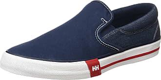 Helly Hansen Mens Copenhagen Slip-On Slip On Trainers, Blue (Navy/Grey Fog/Off White 597), 7.5 UK
