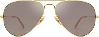 Ray-Ban AVIATOR LARGE METAL RB3025 9064V8 Ouro Lente Cinza Tam 58