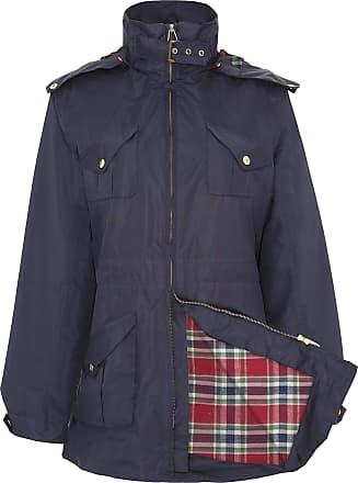 Champion Womens Kirby Country Estate Waterproof Coat Jacket (Navy) 14