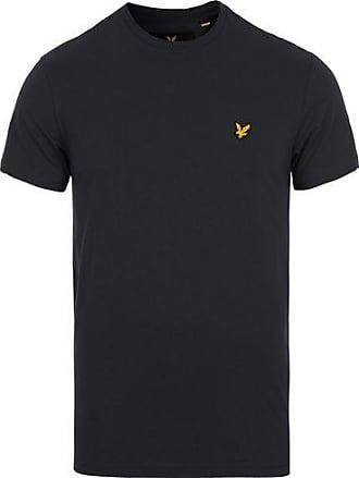 3b57fe6e550a Lyle & Scott Plain Crew Neck Cotton T-Shirt True Black
