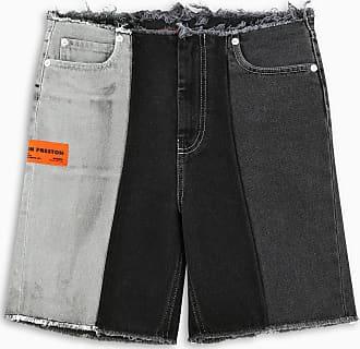 HPC Trading Co. Denim color block shorts