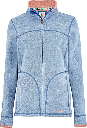 Weird Fish Sienna Full Zip Soft Knit Jacket Cool Blue Size 10