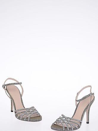 a65d56b5c42 Stuart Weitzman Glittery FLICKER Sandals 10 cm size 35