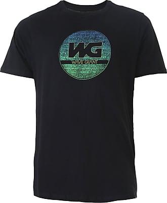 Wave Giant Camiseta WG Tribe Neon Preta
