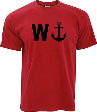 Tim And Ted Funny Slogan T ShirtW with image of an anchor Great Gift Brother Son Joke