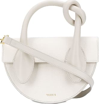 Yuzefi Dolores knotted tote bag - White