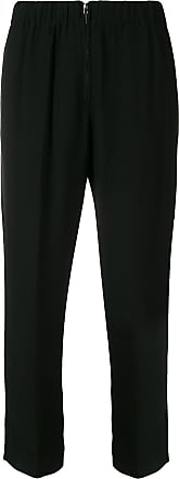 Forte_Forte soft straight trousers - Preto