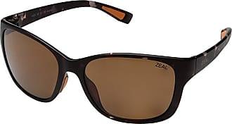 Zeal Optics Magnolia (Matte Tortoise w/ Polarized Copper Lens) Athletic Performance Sport Sunglasses