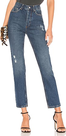09573f1196d Anine Bing Peyton High Waist Skinny Jean in Blue