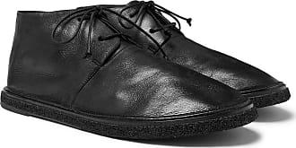 Marsèll Stag Leather Chukka Boots - Black