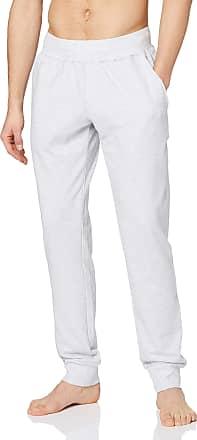 Schiesser Mens Mix & Relax Hose Lang Bündchen Pyjama Bottoms, Grey (Grau-Mel. 202), Xx-Large (Size: 056)