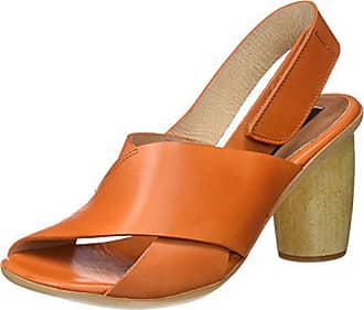 2a34585b4e8f50 Neosens Damen S628 Restored Skin Peeptoe Sandalen Orange (Carrot) 37 EU