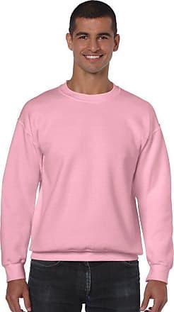 Gildan Heavy Blend Adult Crew Neck Sweatshirt XL Light Pink
