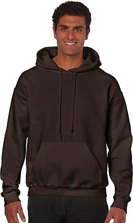Gildan Gildan Heavy BlendTM adult hooded sweatshirt, - Dark chocolate, X-Large