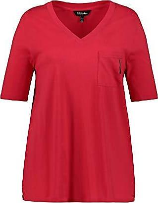 ULLA POPKEN Shirt mit Biesen A-Linie Maglia a Maniche Lunghe Donna