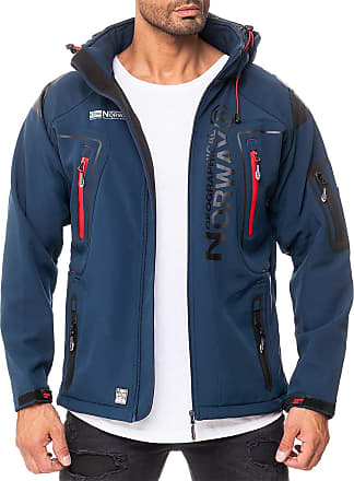 Geographical Norway Techno-bans Mens Outdoor Jacket - Blue - XXX-Large