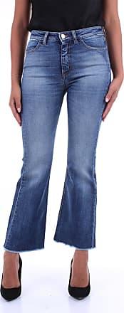 Pantaloni Torino Fondo Largo Blu jeans
