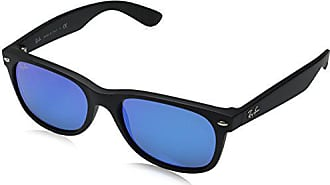 8a3a60c8baccb Ray-Ban Unisex New Wayfarer Flash RB2132 622 17 Non-Polarized Sunglasses