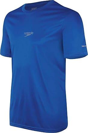 Speedo Camiseta Speedo Interlock Masculina Corrida Academia - Azul