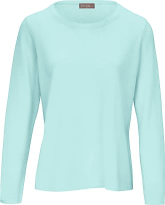 include Round neck jumper in pure new wool and cashmere include green