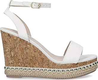 Kurt Geiger MISSKG Womens PIP Wedge Sandal, White