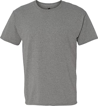 Hanes ComfortBlend EcoSmart Mens Crewneck T-Shirt, 5170, XL, Oxford Grey