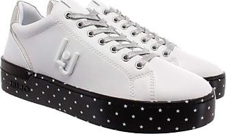Liu Jo Womens Shoes Low Sneakers with Platform BA0001 EX014 04370 Silvia 01 Size 36 White