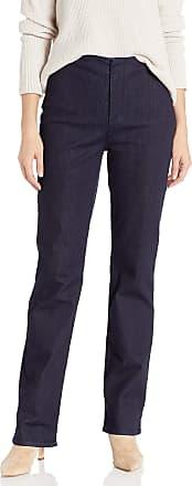 NYDJ Womens Marilyn Straight Leg Forever Slimming Jeans, Rinse, 14