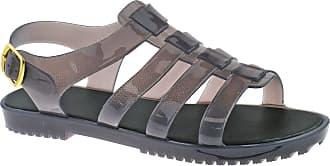 Urban Beach Ladies Summer Halter Back Beach Sandals LP3860 Size UK 3-8 (UK6/EU39, Smoke Grey)