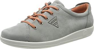 Ecco Ecco Soft 2.0, Womens Derbys, Grey (Wild Dove 2539), 8/8.5 UK (42 EU)