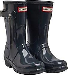 Hunter Original short wellington boots with a Gloss finish