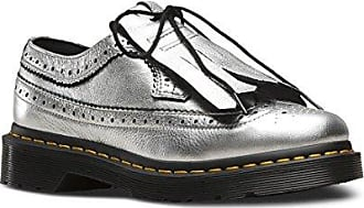 dd7598d4dd86dd Versandkosten. Dr. Martens Dr.Martens Womens 3989 Metallic Kiltie Silver  Leather Shoes 40 EU