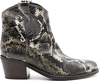 Via Roma 15 Fashion Womens 3044PGREEN Green Ankle Boots | Autumn-Winter 19