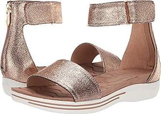620a6568c32e Adrienne Vittadini Footwear Womens Carlos Sandal Mocha 7 M US